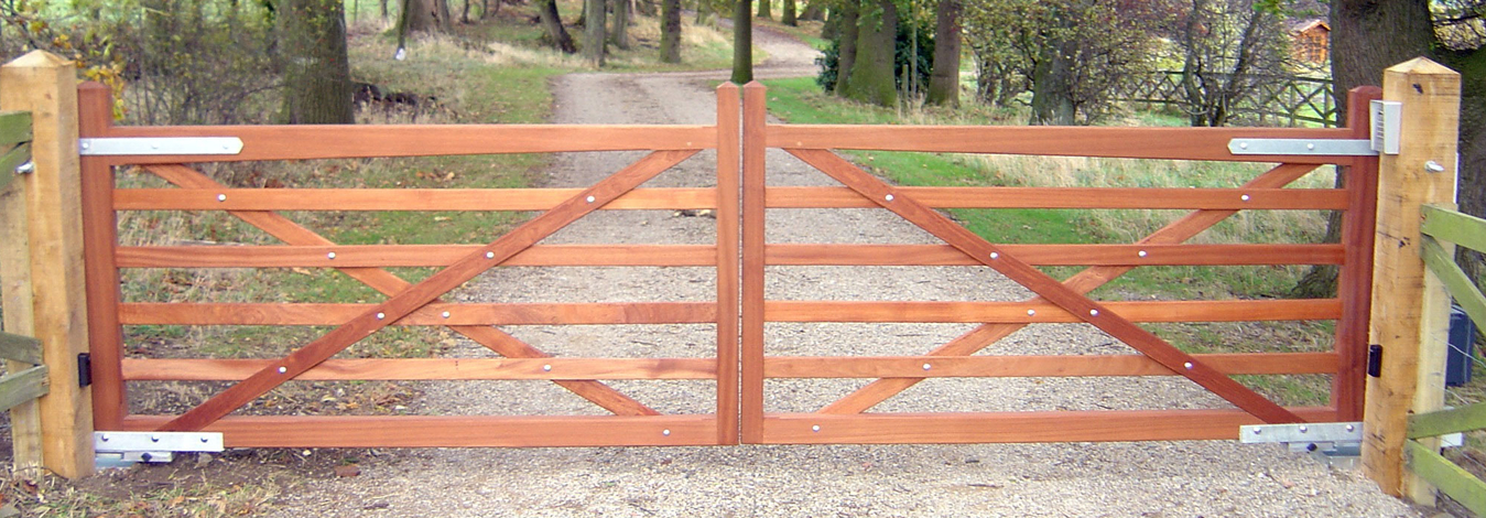 We Fit all Types of Garden Gates and Estate Gates