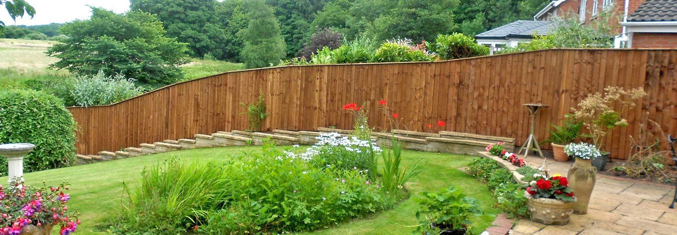 We Can Fit Any Sized Gaden Fence Small or Large